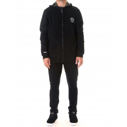 MIX & MATCH ZIP HOOD NEGRO