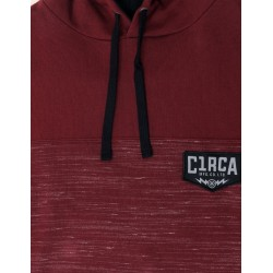 UPRIGHT PULLOVER HOOD BORDO