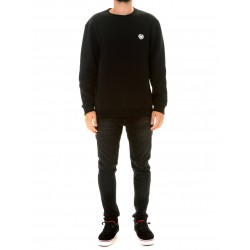 MINI ICON CREW NECK FLEECE NEGRO